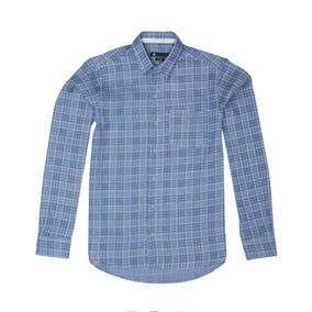 Camisa Mangas Largas Hombre Cuadrillé Crawford Dos Dcj