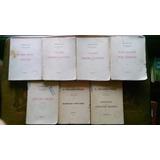Lote De 7 Tomos De Obras Completas De Eduardo Wilde