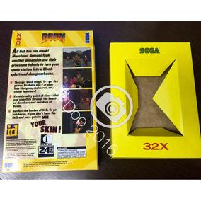 Caixa Padrão Jogos Sega 32x (temos Outros Modelos)