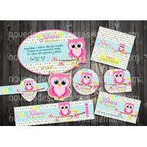 Kit Imprimible Baby Shower Mesa De Postres Dulces Decoración