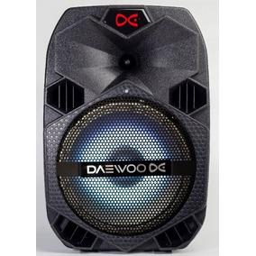 Parlante Potenciado Daewoo Stormy 1200w Recargable Bluetooth