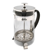 Cafetera Prensa Francesa Hudson Embolo 800 Ml Vidrio Y Acero