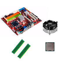 Kit Placa Mãe Positivo Pos-mig31ae 775 E7200 4gb Ddr2+cooler