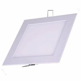 Painel Plafon Led Quadrado Embutir 3w Branco Frio Iluminação