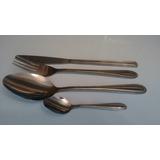 Set 4 Cubiertos Tenedor, Cuchara, Cuchillo ,cucharillas Cafe