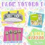 Neko Lucky A.-pack Totoro Cartuchera,post It,lapicero