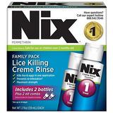 Nix Lice Killing Crema De Enjuague, Family Pack - Maximum St