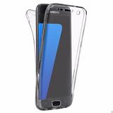 Funda Transparente De Silicona 360 Para Samsung Galaxy
