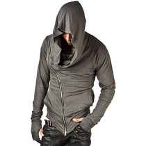 Blusa De Malha Com Capuz Assassins Creed Masculina
