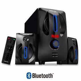 Parlante Halion Mecano 120w Bluetooth Radio Usb Sd Control