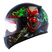 Capacete Ls2 Ff353 Rapid Happy Dreams Brilha No Escuro