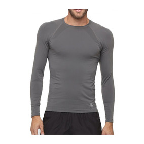 Camiseta Térmica Run Sem Costura Manga Longa Lupo Masculina