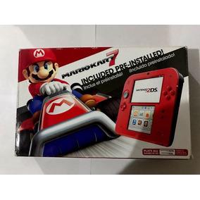 Console Nintendo 2ds Vermelho + Mario Kart 7 (pré-instalado)