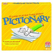 Pictionary Games Mattel Juguetería El Pehuén