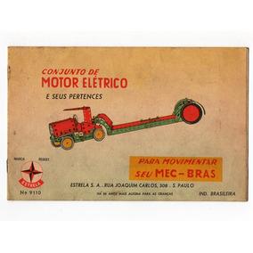 Mec Bras Estrela Catalogo Manual De Montagem Motor Eletrico