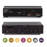 Receiver Audio Casa Som Ambiente Frahm Slim 1000 Usb Sd Fm
