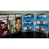 Dvd Box A Mulher Biônica - Série Clássica Dublada (16 Dvds)