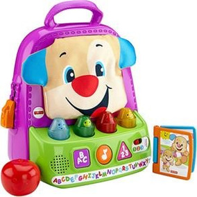 Fisher Price - Mochila Animada Do Cachorrinho Aprendendo A B