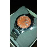 Orient Orange Mako Reloj Automático Naranja