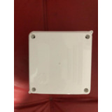 Caja 10x10 Plástica Ciega Para Cámaras Cctv X 10 Unidades