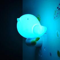 Niceeshop Bird Luz De La Noche Con El Sensor Plug - Azul