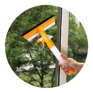 Limpia Vidrios Con Rociador  Y Secador 2 En 1 Ventanas