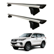 Barrras Porta Equipaje Aluminio Riel P/ Toyota Sw4 Eg