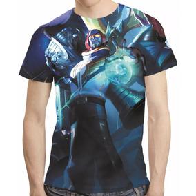 Camisa League Of Legends Camiseta Ryze Skt Estampa Total