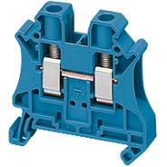 Conector Parafuso 6mm2 2 Pontos Azul; Schneider Nsytrv62bl