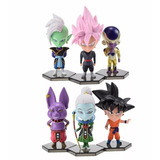 Figuras De Dragon Ball Super Packs X 6