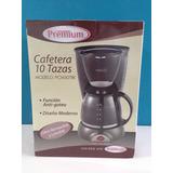 Cafetera Premium De 10 Tazas