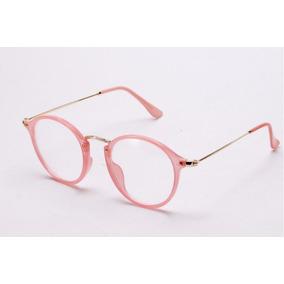 Oculos De Grau Tamanho 58 - Óculos Rosa claro no Mercado Livre Brasil f1456a4f24