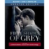 50 Sombras De Grey - (bluray+dvd) - Sin Censura + Extras.