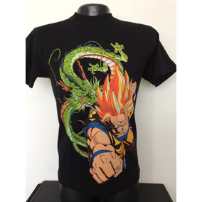 Camiseta Dragon Ball Z New Rock Metal Anime Comics Juegos