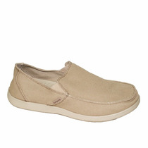 Crocs Santa Cruz Clean Cut Khaki Cobblestone Adultos