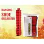 Sapateira 10 Vertical Organizador Sapato Closet Pendurar