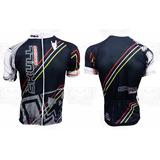 Camisa Ciclismo Skull Racing Iron Preta