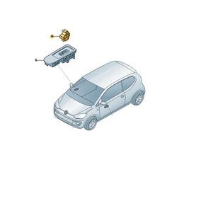 Interruptor Do Vidro Eletrico Lado D. Vw 1sb9598559b9