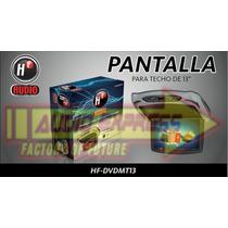 Pantalla Para Techo Hf-dvdmt13 Reproductor De Dvd