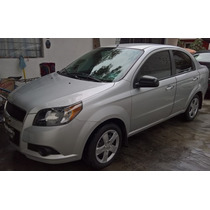 Chevrolet Aveo Lt Manual Seminuevo 2015