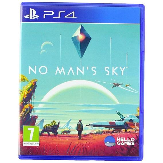 No Man's Sky Ps4 Original Fisico Nuevo Sellado Sin Uso Playstation 4 + Envio Gratis