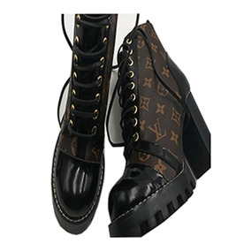 Bota Louis Vuitton Ankle Boot Feminina