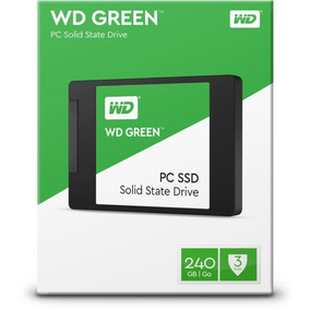 Ssd 240gb Wd Green 540mb/s Sata 3 7mm 2,5 + Nf
