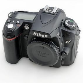 Nikon Dslr D90 Nova 694 Cliques Perfeita + Bolsa + Nf Mg