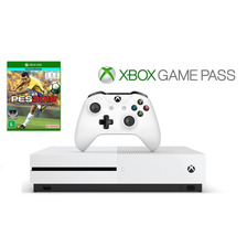 Xbox One S 500gb Branco + Live Gold + Game Pass + Pes 2018