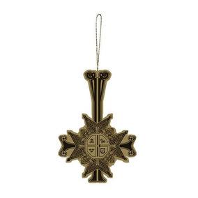 Popestar Metal Holiday Ornament