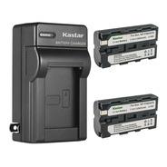 Cargador + 2 Baterías Sony Np-f550 F570 F330