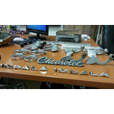 Insignias,radio Y Manijas De Chevrolet Impala