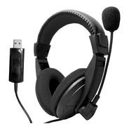 Auricular Usb Con Microfono Pc Gamer Skype Zoom Cuotas