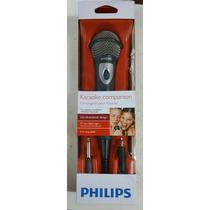 Microfono Philips Sbc-md 150 + Dvd De Karaoke De Regalo
